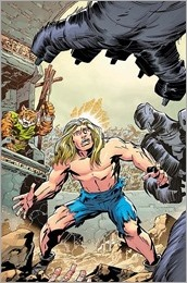 The Kamandi Challenge #1 Cover - Giffen Variant