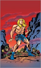 The Kamandi Challenge #1 Cover - Timm