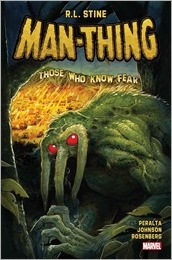 Man-Thing #1 Cover - Crook