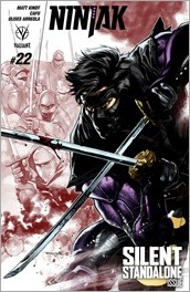 Ninjak #22 Cover A - Segovia