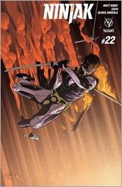 Ninjak #22 Cover - Henry Variant