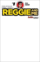 Reggie and Me #1 Cover - Sketch Variant