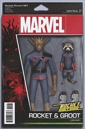 Rocket Raccoon #1 Cover - Christopher Action Figure Variant