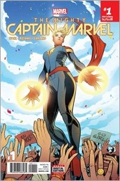 The Mighty Captain Marvel #1 Cover