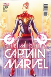 The Mighty Captain Marvel #1 Cover - Ross Variant