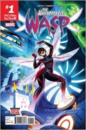 The Unstoppable Wasp #1 Cover