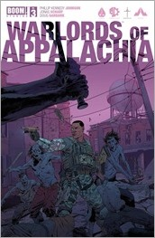 Warlords of Appalachia #3 Cover