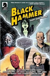 Black Hammer Giant-Sized Annual Cover