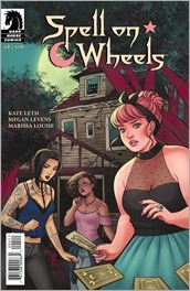 Spell on Wheels #4 Cover