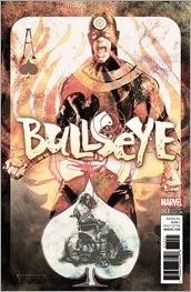 Bullseye #1 Cover - Sienkiewicz Variant