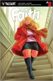 Faith #8 Cover - Coover Variant