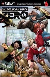 Generation Zero #6 Cover - Segovia Variant