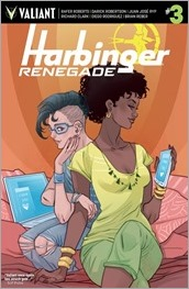 Harbinger Renegade #3 Cover B - Sauvage
