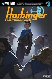 Harbinger Renegade #3 Cover C - Palosz
