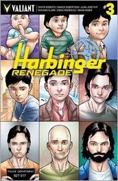 Harbinger Renegade #3 Cover - Henry Variant