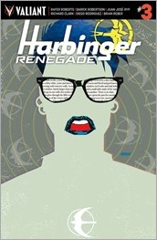 Harbinger Renegade #3 Cover - Johnson Variant