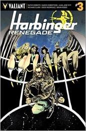 Harbinger Renegade #3 Cover - Mahfood Variant