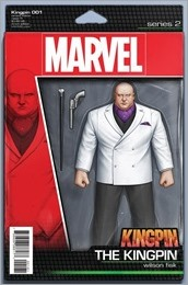 Kingpin #1 Cover - Christopher Action Figure Variant