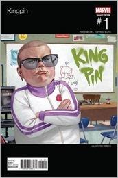 Kingpin #1 Cover - Tedesco Hip-Hop Variant