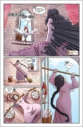 Ladycastle #1 Preview 3