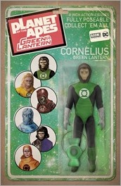 Planet of the Apes/Green Lantern #1 Cover E - Action Figure Variant