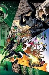 Planet of the Apes/Green Lantern #1 Cover F - Unlocked Retailer Variant