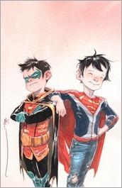 Super Sons #1 Cover - Nguyen Variant