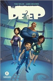 The Deep #1 Cover