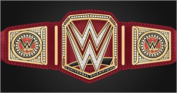 WWE #1 Cover H - Title Belt