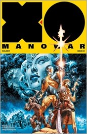 X-O Manowar #1 Cover A - LaRosa