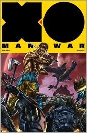 X-O Manowar #2 Cover - Suayan Interlocking Variant