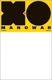 X-O Manowar #2 Cover - Blank Variant