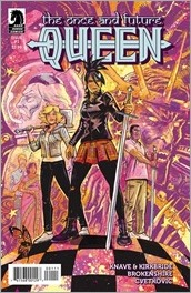 The Once and Future Queen #1 Cover