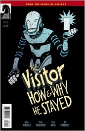 The Visitor: How and Why He Stayed #1 Cover