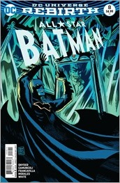 All Star Batman #8 Cover - Francavilla Variant