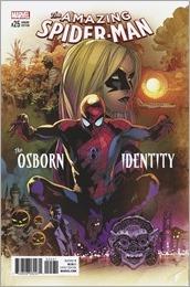 Amazing Spider-Man #25 Cover - Immonen Variant
