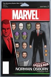 Amazing Spider-Man #25 Cover - Action Figure Variant