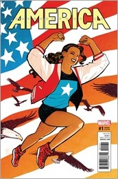 America #1 Cover - Chiang Variant