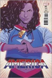 America #1 Cover - McKelvie Variant