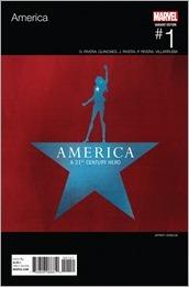 America #1 Cover - Veregge Hip-Hop Variant