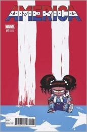 America #1 Cover - Young Variant