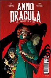 Anno Dracula #1 Cover A - McCaffrey