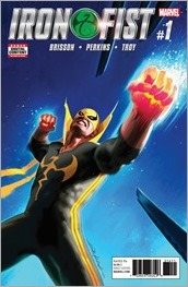 Iron Fist #1 Cover