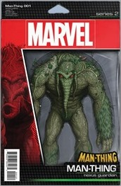 Man-Thing #1 Cover - Action Figure Variant