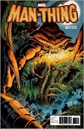 Man-Thing #1 Cover - Francavilla Variant