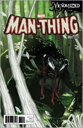 Man-Thing #1 Cover - Hans Venomized Variant