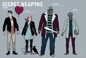 Secret Weapons #1 First Look Designs 1