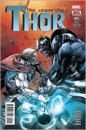 The Unworthy Thor #5 Cover