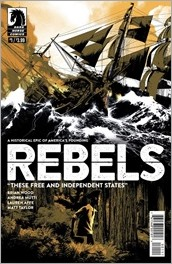 Rebels: These Free And Independent States #1 Cover