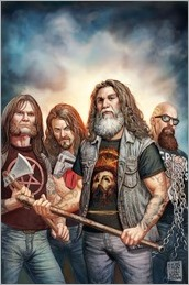 Slayer: Repentless #2 Cover